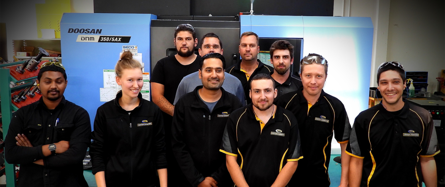 Contour Engineering team photo